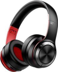 MeGoo Koptelefoon voor kinderen en tieners | B21 | draadloos | bluetooth | touch | zwart-rood