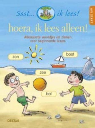 Afbeelding van Deltas leren lezen Hoera, ik lees alleen AVI: start 21 cm