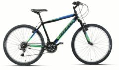 24 Zoll Mountainbike 18 Gang Montana Escape Wham schwarz-grün