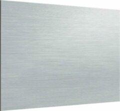 Zambala Uni Metallic Aluminium keuken spatwand voor fornuis 100x55 cm