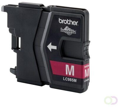 Afbeelding van BROTHER LC-985 inktcartridge magenta standard capacity 260 paginas 1-pack blister zonder alarm