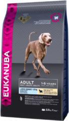 Eukanuba Adult Large Breed Lam&Rijst - Hondenvoer - 2.5 kg - Hondenvoer