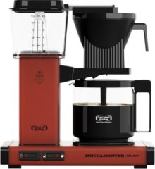 Donkerrode Filterkoffiemachine KBG Select, Brick Red – Moccamaster