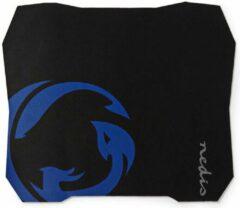 Blauwe Nedis Gaming-Muismat - Antislip en Waterbestendige Onderkant - 287 x 244 mm