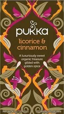 Afbeelding van Pukka Org. Teas Licorice & cinnamon thee 20 Stuks