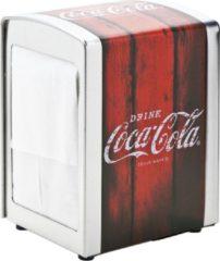 Cosy&Trendy Cosy & Trendy Retro Coca Cola Servethouder - Metaal - 10.1 cm x 9.8 cm x 14.1 cm