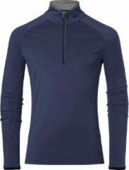 Donkerblauwe Kjus Feel - Wintersportpully - Heren - Blauw - Maat 54