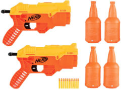Oranje Nerf Alpha strike corba RC-6 dual targeting set