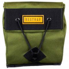 Restrap - Small City Saddle Bag - Fietstas maat 1,2, olijfgroen/zwart