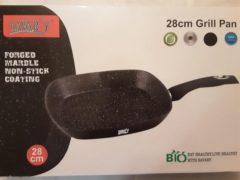 Zwarte Bavary Grillpan 28 cm