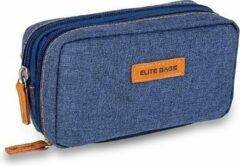 Elite Bags Unisex Diabetes Tas Clutch Blauw