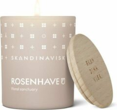Roze Skandinavisk Candle 65gr - 20u Rosenhave / Rose Garden