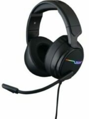 Zwarte The G-Lab Korp Thallium RGB Surround Gaming Headset - USB - Windows