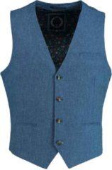 Blauwe Bos Bright Blue Blue kris waistcoat 20111kr21sb/240 blue