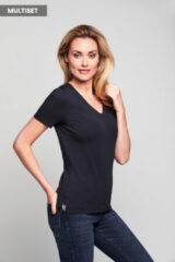 Marineblauwe Mart Visser Basic T-shirts - 2 Pack Navy/Navy