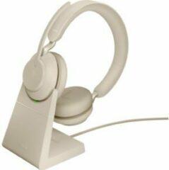 Zwarte Jabra Evolve2 65 MS Mono - Bluetooth Headset - op oor - omkeerbaar - draadloos - USB-A - ruisisolatie