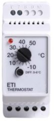 Magnum eti-1551 rail thermostaat -10/+50 c. 10a 230v