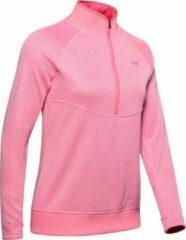 Roze Under armour UA Storm Sweaterfleece 1/2 Zip-Lipstick / / Bubble Gum