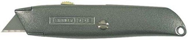 Afbeelding van Stanley mes, mesvorm recht, totale le 155mm, uitschuifbaar, handvat met