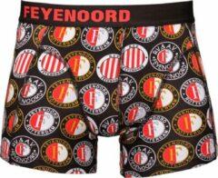 Zwarte Feyenoord Boxershorts 2-Pack, Boys (128)