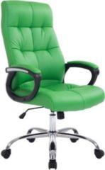 CLP XXL Bürostuhl POSEIDON mit hochwertiger Polsterung und Kunstlederbezug Höhenverstellbarer Drehstuhl mit Laufrollen Robuster Chefsessel mit einer