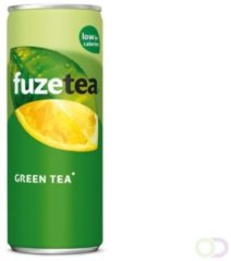Groene Frisdrank FuzeTea groen blikje 0.33l