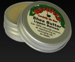 Berivita Lippenzalf/Lippenbalsem Shea Butter en Arganolie 15gr - 100% Natuurlijk