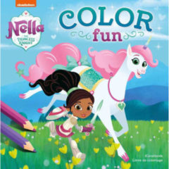 Deltas Centrale uitgeverij Deltas Color Fun Nella The Princess Knight