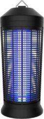 Zwarte RelaxPets - Insectenlamp - Knock Off - 36 Watt - Vangstbereik 300 m2 - 360° - 23.5x23.5x56 cm