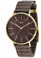 Holz-Armbanduhr Horizon Gold Ebony WeWood braun