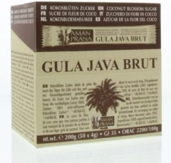 Amanprana Aman Prana Gula Java Brut Sticks (Kokosbloesemsuiker)