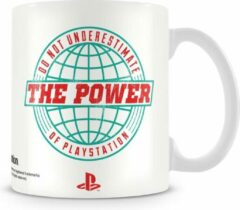 Witte Merkloos / Sans marque PLAYSTATION - Mug - Power of Playstation