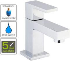 Boss & Wessing BWS Square Toiletkraan 1/2'' Chroom Met Keramisch Binnenwerk