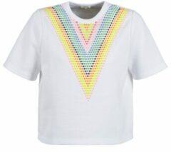Witte Sweater Manoush DOUDOU STAR