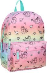 Milky Kiss Backpacks Milky Kiss Rainbows & Unicorns Kinderrugzak 13,6 liter - Regenboog en eenhoorn print