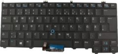 Zwarte Dell NM7G5 Duits QWERTZ Laptop Toetsenbord (Origineel)