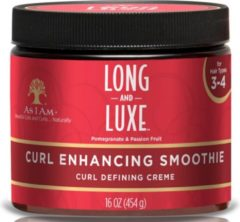 AS I AM LONG AND LUXE CURL ENHANCING SMOOTHIE 454GR