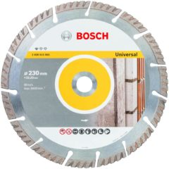 Diamantslijpschijf Standard for Universal, 230 x 22,23 x 2,6 x 10 mm Bosch Accessories 2608615065 Diameter 230 mm 1 stuk(s)