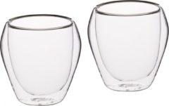 Transparante Set van 4 Tumblers / Glazen - 250ml - KitchenCraft | Le'Xpress