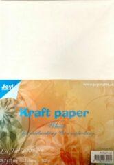 Joycrafts Joy!Crafts / Kraft Papier wit / Hobby Karton / Cardmaking / Scrapbooking /A4 / 300gr Papier / 20 vellen