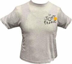 Tour de France Officiële Vintage T-shirt Grijs - Maat 10/12 Jaar