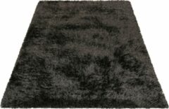 Antraciet-grijze Hoogpolig antraciet vloerkleed 120x170 Esprit