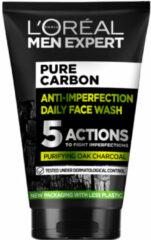 L'Oréal Paris 2x L'Oréal Men Expert Pure Charcoal Gezichtswash 100 ml
