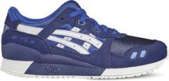 Asics Gel Lyte III Gs C5A4N-4501, Kinderen, Marineblauw, Sneakers maat: 37,5 EU