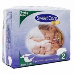 Sweet Care SweetCare Premium Baby Ultradun Luiers - Maat 2 - 36 stuks