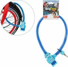 Toi-Toys Toi Toys kabelslot met sleutel robot blauw 50 cm