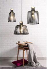 Zwarte Home24 Hanglamp Bird Cage III, searchlight