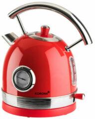 Korona 20667 - retro waterkoker - rood