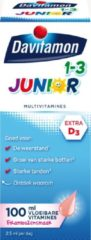 Davitamon Multivitaminen - Junior 1+ Vloeibaar Framboos 100ml