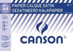 Witte Canson kalkpapier 21 x 29,7 cm (A4), pak van 12 blad